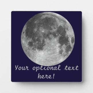 Full moon plaque