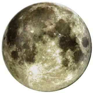 Full Moon Porcelain Plates