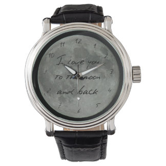 Full Moon Quote Love You Much Stars Watch
