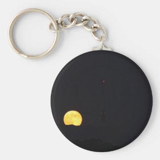 Full Moon Rise Keychain