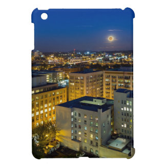 Full Moon Rising over Portland OR Downtown iPad Mini Case