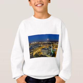 Full Moon Rising over Portland OR Downtown Sweatshirt