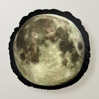 Full Moon Round Pillow