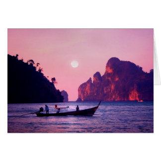 Full Moon - Sea of Thailand Card