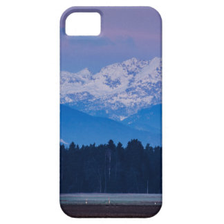 Full Moon setting over the Julian Alps Case For The iPhone 5
