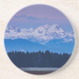 Full Moon setting over the Julian Alps Coaster