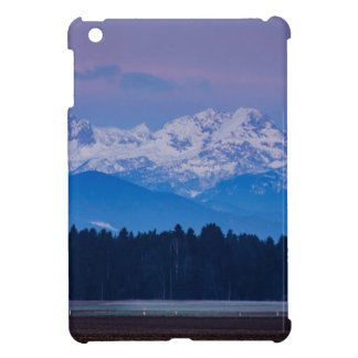 Full Moon setting over the Julian Alps iPad Mini Covers
