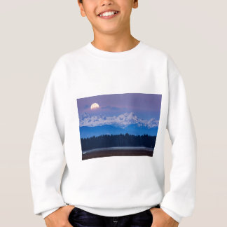 Full Moon setting over the Julian Alps Sweatshirt