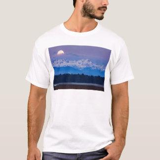 Full Moon setting over the Julian Alps T-Shirt