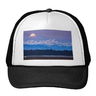 Full Moon setting over the Julian Alps Trucker Hat
