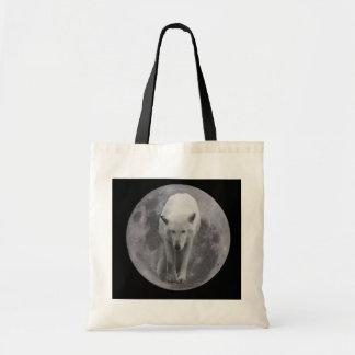 Full Moon Wolf Canvass bag
