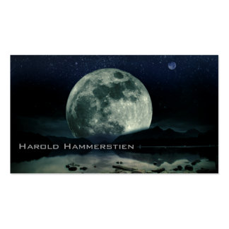 Full Moons Pack Of Standard Business Cards