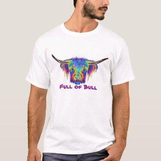 Full of Bull colourful bull image. T-Shirt