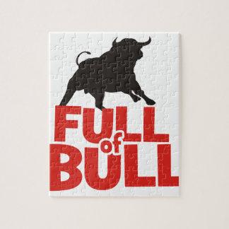 Full of Bull Jigsaw Puzzle