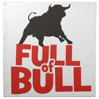 Full of Bull Napkin