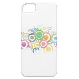 full of circles. Colorful and cool gift Case For The iPhone 5