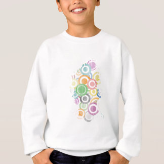 full of circles. Colorful and cool gift Sweatshirt