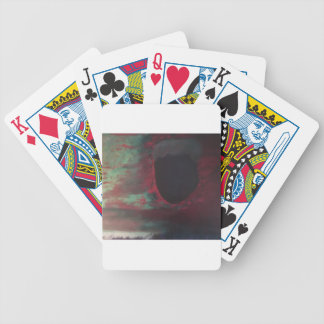 Full of color in a bright world bicycle playing cards