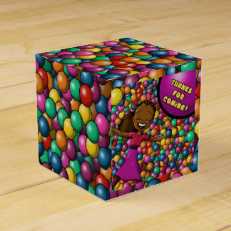 """Full of Fun Birthday Favor Box Classic 2x2"""