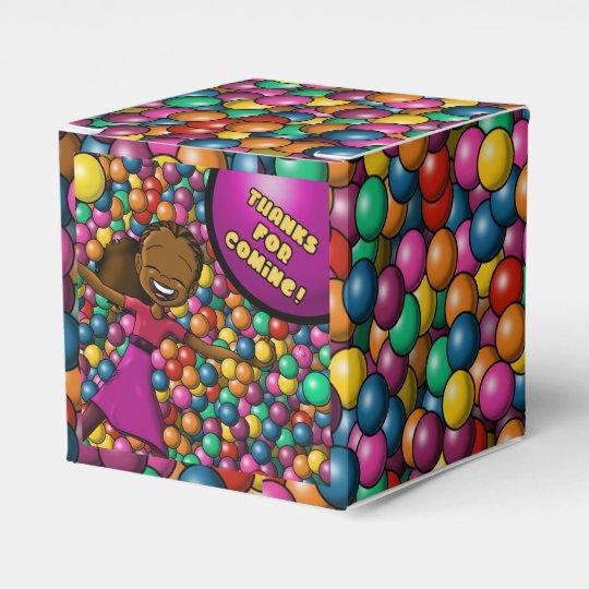 """Full of Fun Birthday Favour Box Classic 2x2"""