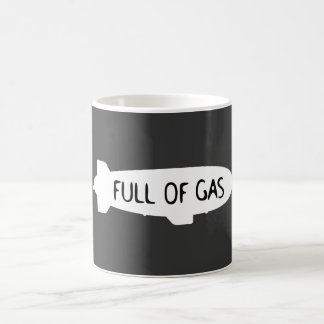 Full Of Gas - Blimp Coffee Mug
