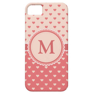Full of Hearts || Pink || Custom Case For The iPhone 5