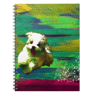 「Full of life」-VividーMaltese Notebook