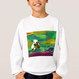 「Full of life」-VividーMaltese Sweatshirt