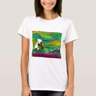 「Full of life」-VividーMaltese T-Shirt
