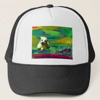 「Full of life」-VividーMaltese Trucker Hat