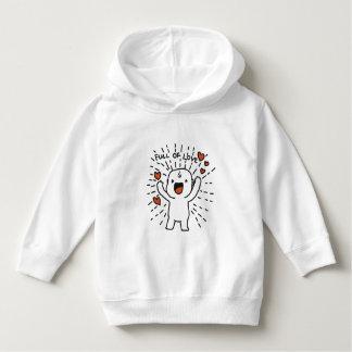 Full of Love Toddler Pullover Hoodie