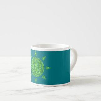 full of sunshine life quote espresso cup