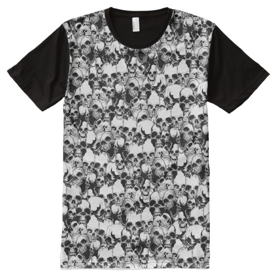 Full Print Skulls Shirt