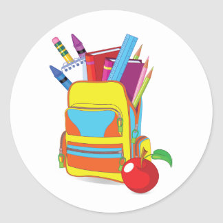 Full School Bag Stickers