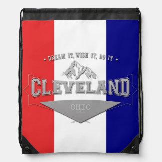 Full Screen Cleveland Ohio Dream Drawstring Bag