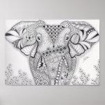 Full Size Elephant Poster