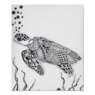 Full Size Sea Turtle Poster