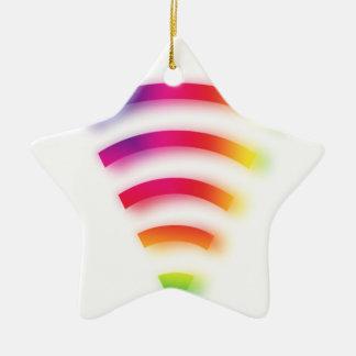 Full Strength WIFI Ceramic Ornament