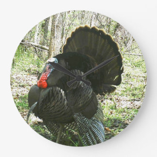 FULL STRUT TURKEY WALL CLOCK