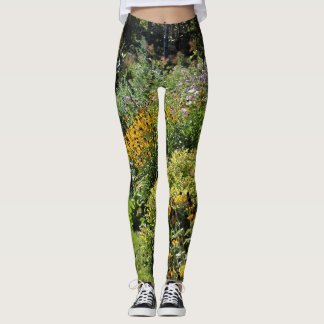Full & Tall Late Summer Garden Path! Leggings