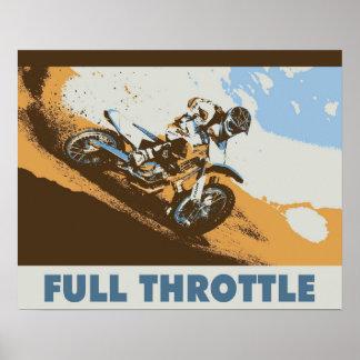 Full Throttle 16x20 Poster