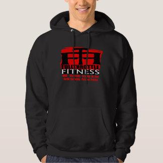 """Full Throttle Fitness Dark """"Stamp"""" Logo Hoodie"""