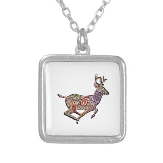 FULL THROTTLED SILVER PLATED NECKLACE
