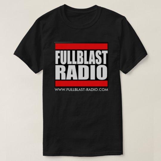 Fullblast Radio Logo Dark T-Shirt