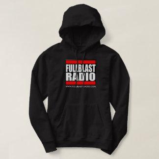 Fullblast Radio Logo Men's Basic Hooded Sweatshirt