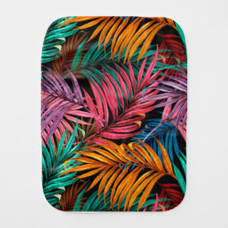 Fullcolor Palm Leaves Burp Cloth