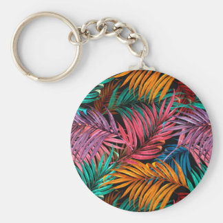 Fullcolor Palm Leaves Keychain