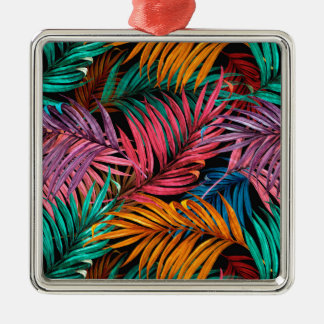Fullcolor Palm Leaves Metal Ornament