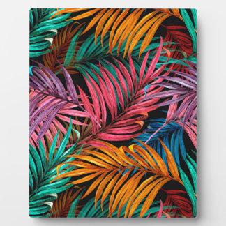 Fullcolor Palm Leaves Plaque