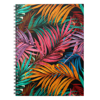 Fullcolor Palm Leaves Spiral Notebook